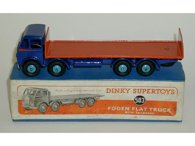 Dinky 503 1st Foden flat with tailboard