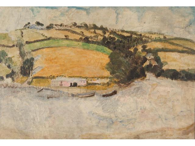 Winifred Nicholson ,N.E.A.C. (1893-1981) Restronguet