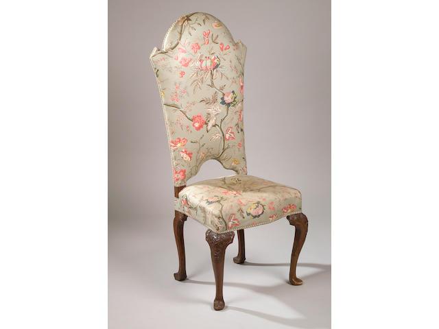 An 18th Century walnut standard chair,