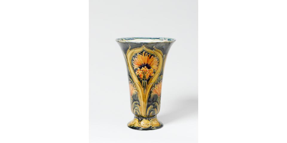 Moorcroft Cornflower Vase c1900