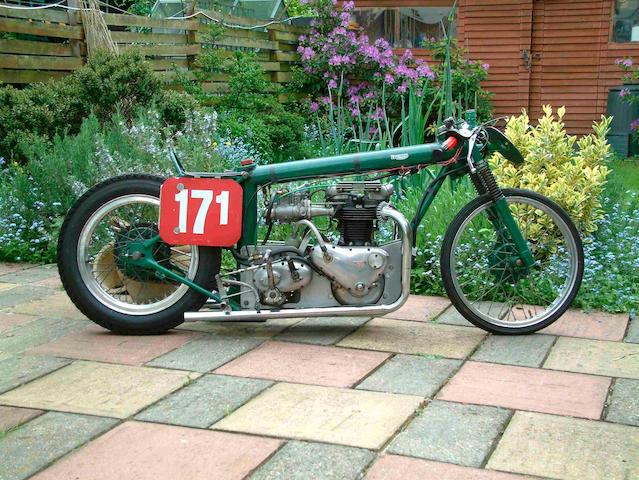 The Ex-Denis Jenkisnon ('Jenks'),c.1963 Triumph 650cc Sprinter 'Greenie'  Engine no. 6T 76839