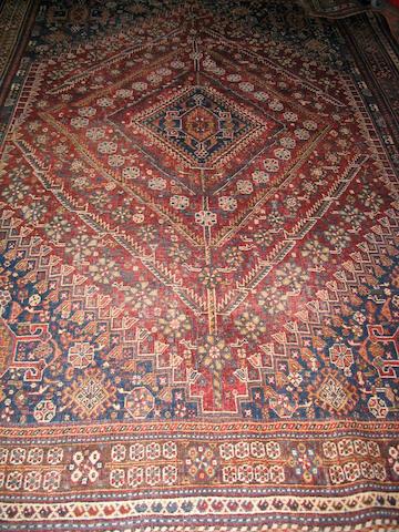 A Kashgai carpet South West Persia, 296cm x 211cm