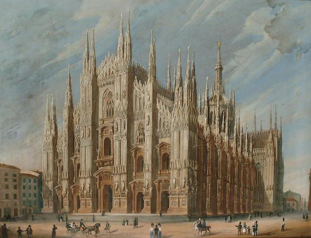 Milanese School, circa 1830 550 x 640mm