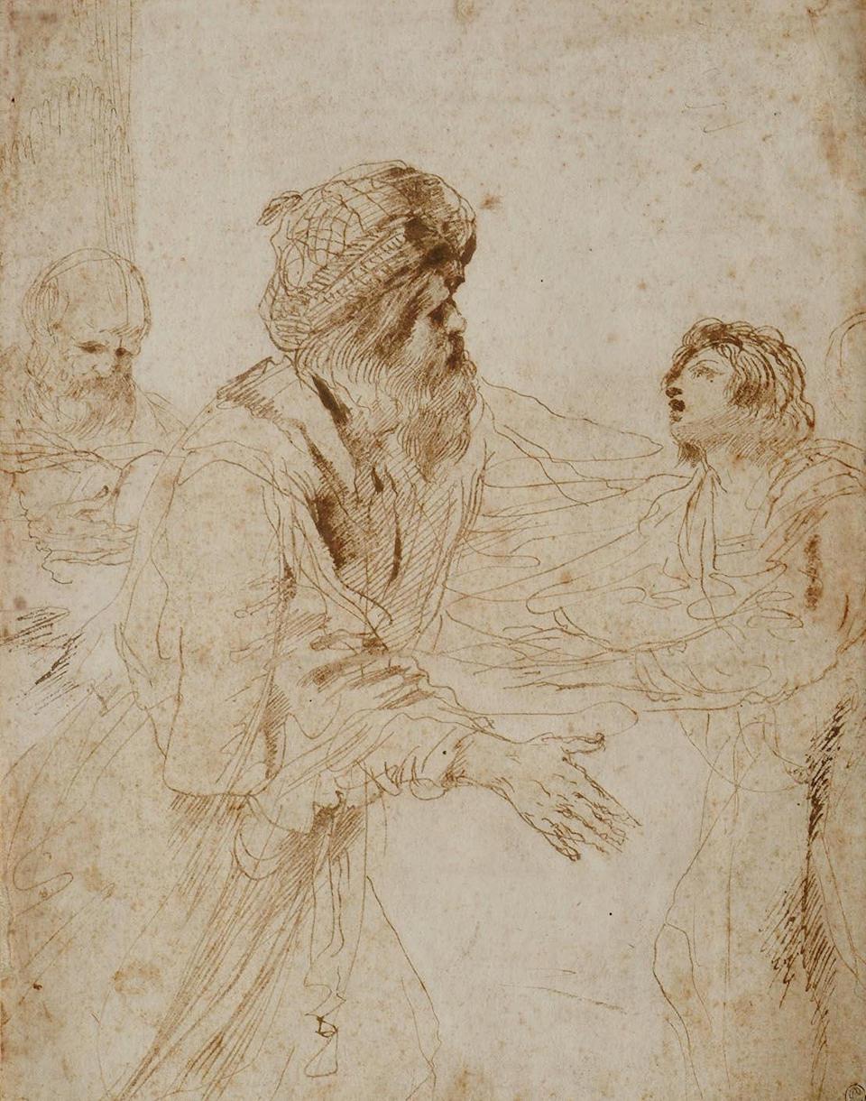 Giovanni Francesco Barbieri, called Il Guercino (1591-1666) 261 x207mm