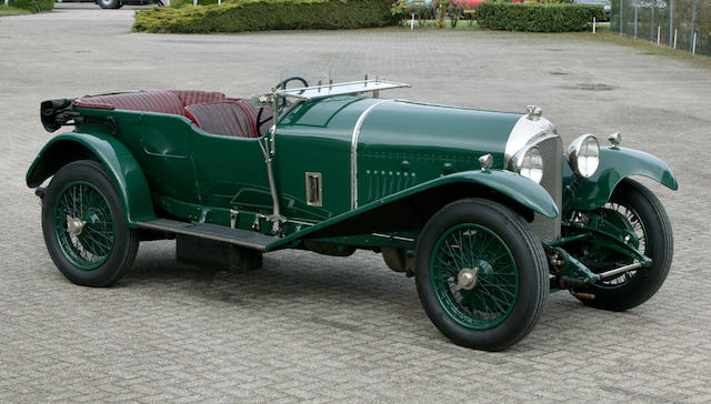 1926 Bentley 3 litre Speed Model Fitted with 4 1/2 litre Engine Vanden Plas Four Seater Tourer  Chassis no. AH1478 Engine no. XL3111