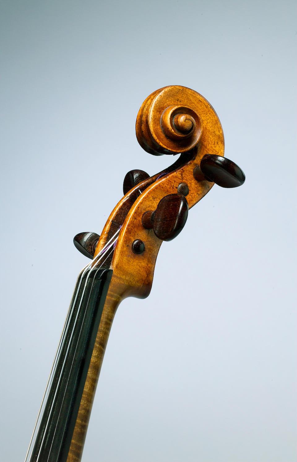 A fine and rare Italian Violin by Joannes Baptista Gabbrielli, Florence 1770