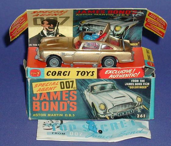 Bonhams Corgi 261 James Bond Aston Martin Db5