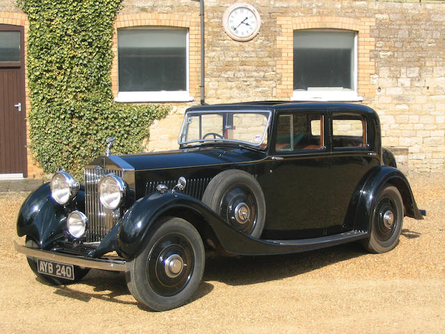 1935 Rolls-Royce 20/25hp Sports Saloon  Chassis no. GAF19