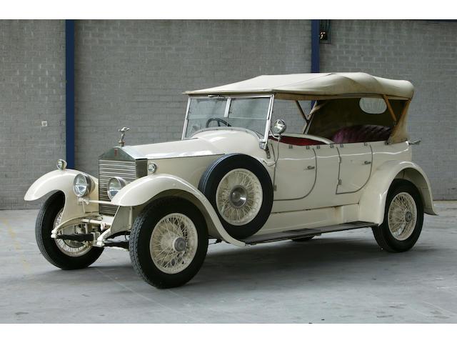 1928 Rolls-Royce 20hp 3.1 litre Barrel-Sided Tourer  Chassis no. GWL 18 Engine no. P3M
