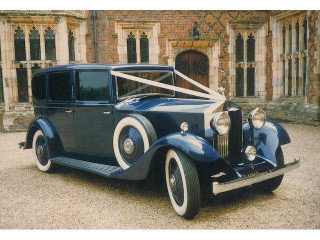 The ex-Rod Stewart,1934 Rolls-Royce 20/25hp Limousine  Chassis no. GYD27 Engine no. J4K