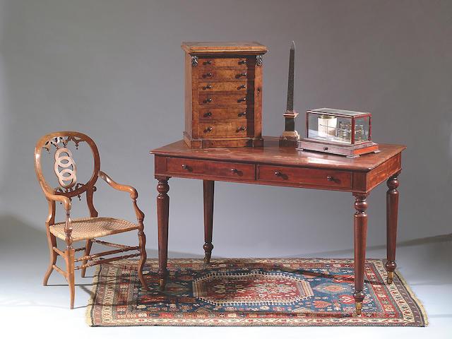 A Victorian mahogany rectangular centre table,