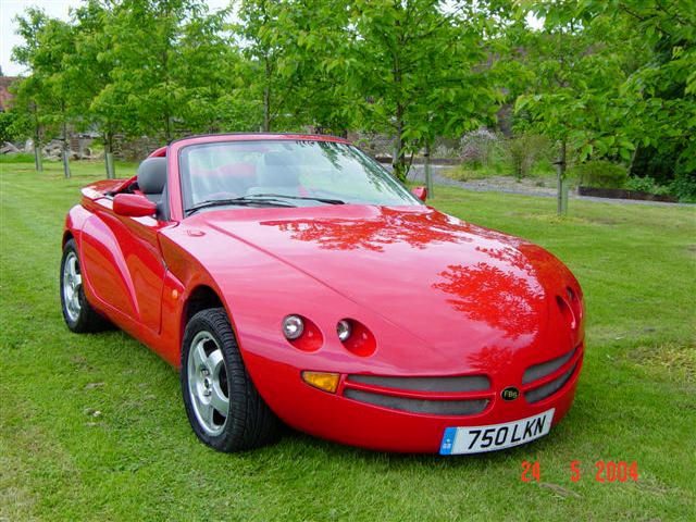 First car delivered,2002 FBS Census V6 Roadster  Chassis no. FBS 1005 Engine no. P051313