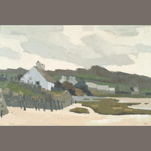 Sir Kyffin Williams  (1918-) 'Redwarf Bay, Anglesey' 50 x 75cm