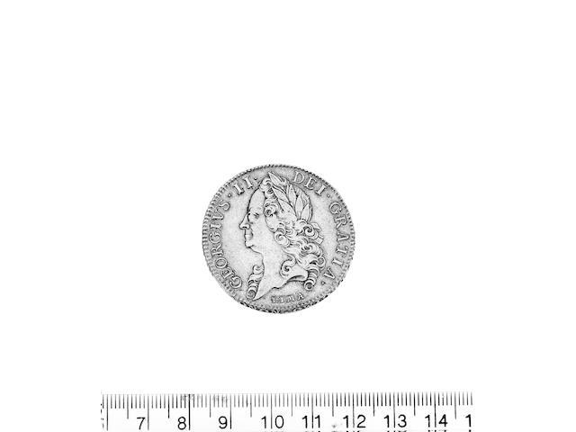 George II (1727-1760), Five Guineas 1746, old head LIMA below bust (S.3665).