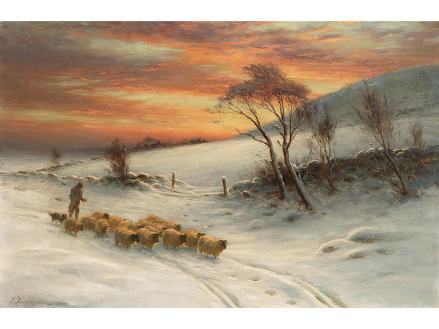 Joseph Farquharson When day expecting the west......