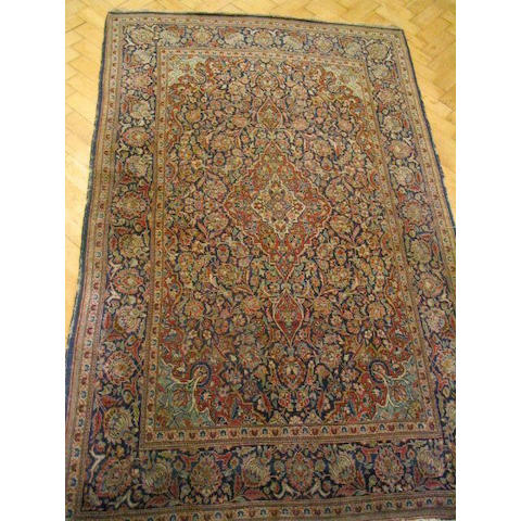 A Kashan rug Central Persia,