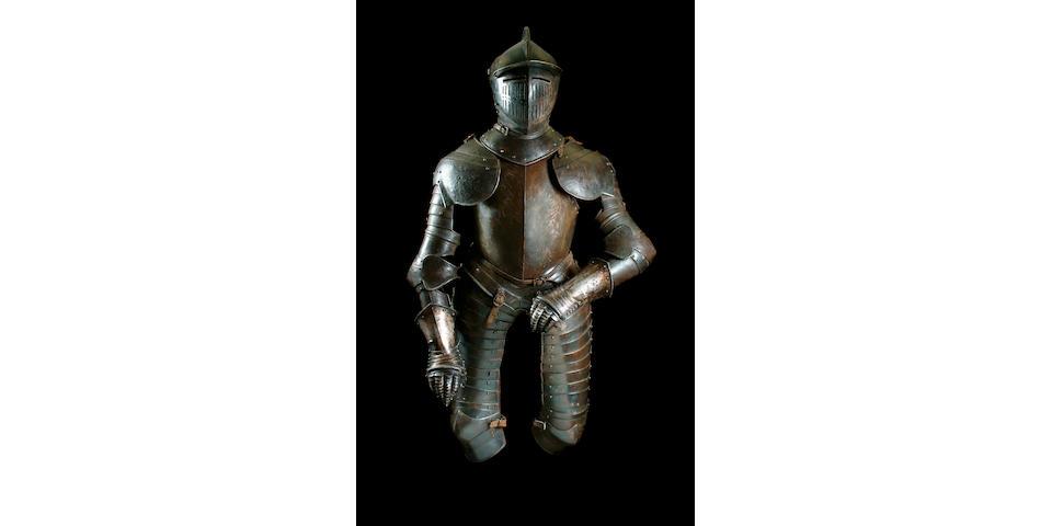 A German Cuirassier Armour