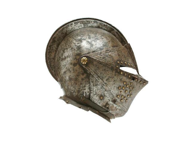A Cuirassier's Close-Helmet