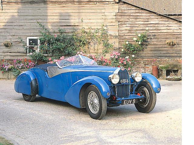 Originally the property of Col. G M Giles,1935 Bugatti Type 57TT Four Seat Tourer - 'Terese' 57316