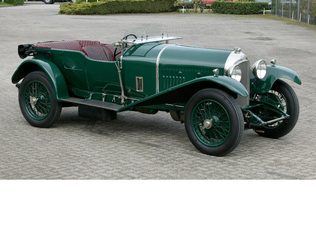 1926 Bentley 3 litre Speed Model Fitted with 4 1/2 litre Engine  Vanden Plas Four Seater Tourer AH1478
