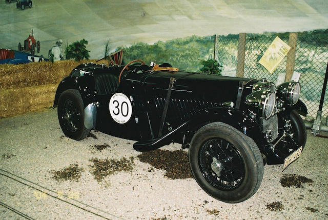1934 Singer 1 1/2 litre Six-Cylinder 'Le Mans' Two Seater  Chassis no. M32