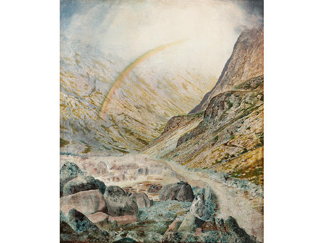 John Atkinson Grimshaw Honiston Pass