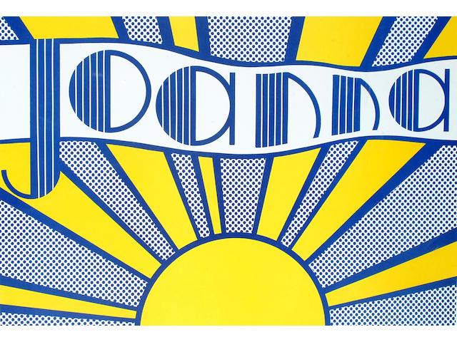 Roy Lichtenstein (American, b.1923-1997) Joanna ???