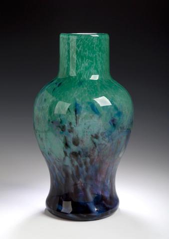 A large Monart Vase, shape LI,