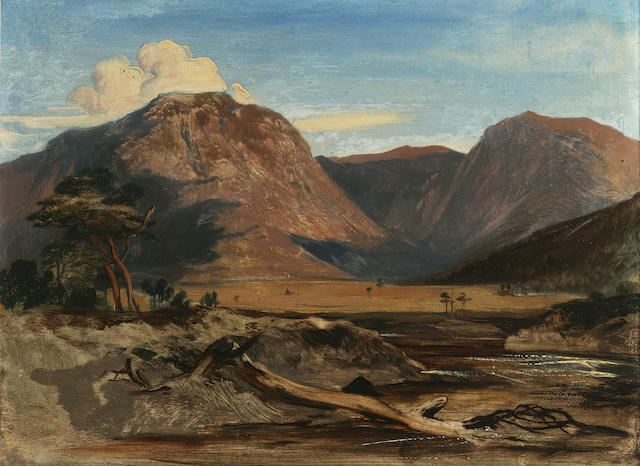 Sir Edwin Henry Landseer RA (1802-1873) Glen Feshie 26 x 34 cm (10 1/4 x 13 1/2 in)