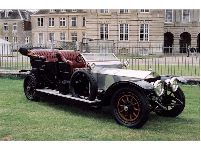 1910 Rolls-Royce Silver Ghost 40/50hp Roi-de-Belges Tourer  Chassis no. 1302 Engine no. 1302