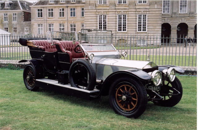 1910 Rolls-Royce Silver Ghost 40/50hp Roi-de-Belges Tourer  Chassis no. 1302 Engine no. 1302