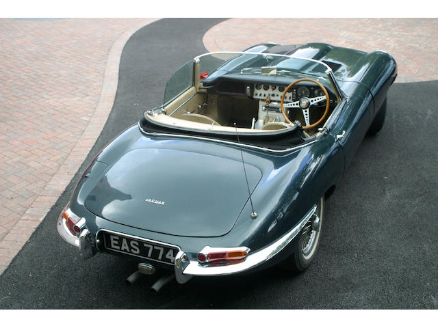 1962 Jaguar E-type Flat Floor Series 1 Roadster  Chassis no. 876119 Engine no. RA-Z109-9