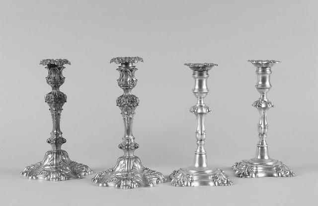 A pair of candelsticks Howard & Co, New York, circa 1900,