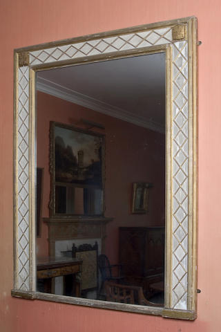 A late 18th/early 19th Century pier glass,