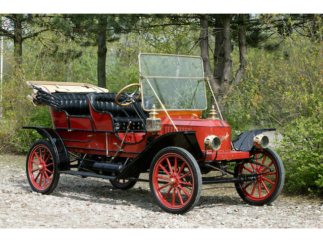 1910 Stanley Steamer 10hp Five-passenger Tourer