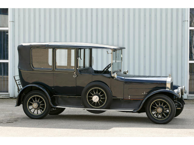 1921 Wolseley 20hp 3.9 litre Landaulette  Chassis no. 36326 Engine no. 166A 2548