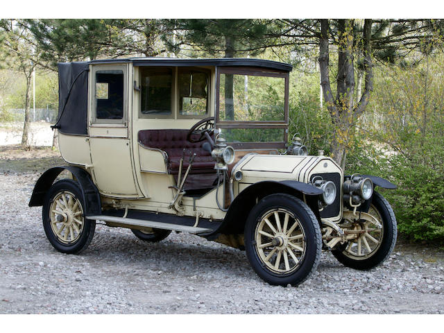 1906 Wolseley-Siddeley 18hp 3.3 litre Open Drive Landaulette  Chassis no. 1501 Engine no. 17989 30 BT