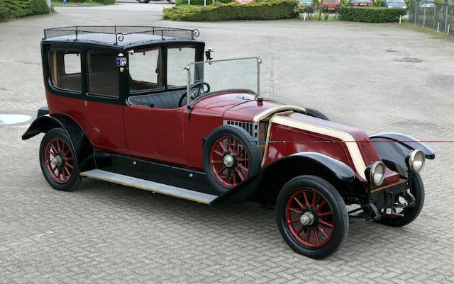 1921 Renault Type JP 45hp 9.1 litre Open Drive Limousine 101100