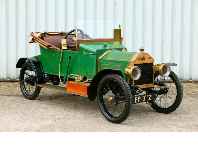 1913 Swift 7hp Twin-cylinder Two-seater Cyclecar C368