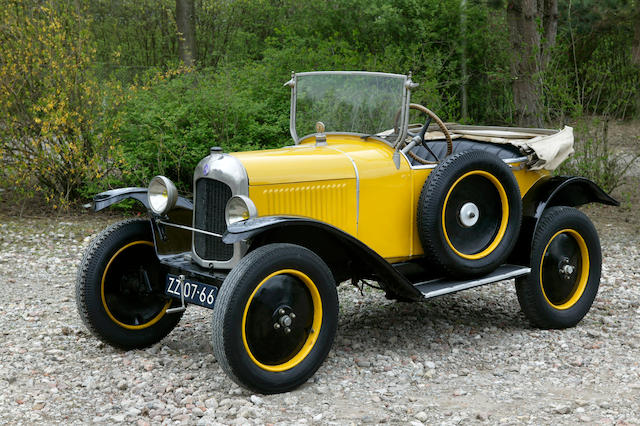 1923 Citroen 5CV 855cc Two Seater  Chassis no. 7009 Engine no. 60757