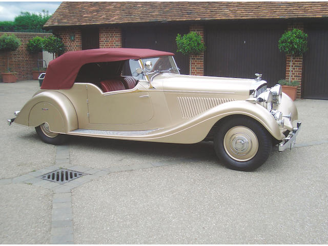 1934 Bentley 3.5-litre Tourer  Chassis no. B151 DK Engine no. Z9BE
