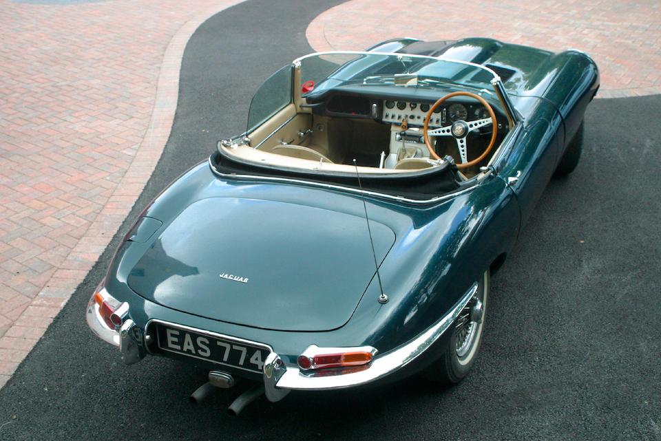 1962 Jaguar E-type Flat Floor Series 1 Roadster  Chassis no. 876119 Engine no. RA-Z109-9