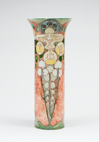 Della Robbia, 1903 A Tall Vase