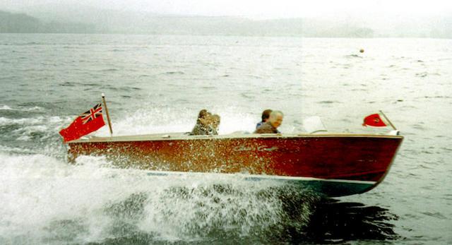 GEE WIZZ. A Chris Craft Rocket Sportsboat