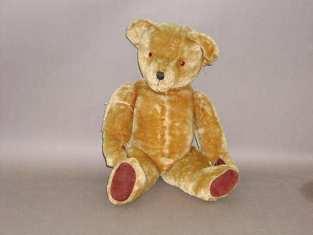 A large Pedigree Teddy bear, English circa 1950,