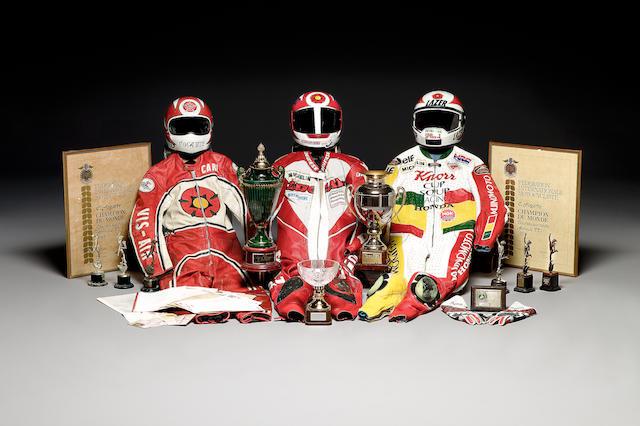 Five Michelin podium caps,