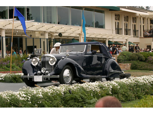 The ex-James Bond '007',1937 Bentley 4¼-litre Drophead Coupe  Chassis no. B129 JY Engine no. T7BR