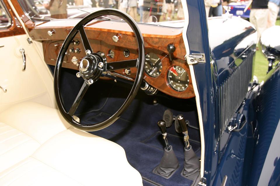 The ex-James Bond '007',1937 Bentley 4¼-litre Drophead Coupe  Chassis no. B129 JY Engine no. T7BR