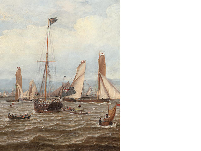 William Clark of Greenock (British, 1803-1883) The 1855 Royal Northern Club Regatta off Greenock 38