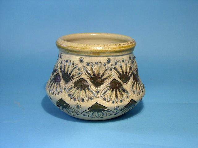 A Martin Brothers vase,